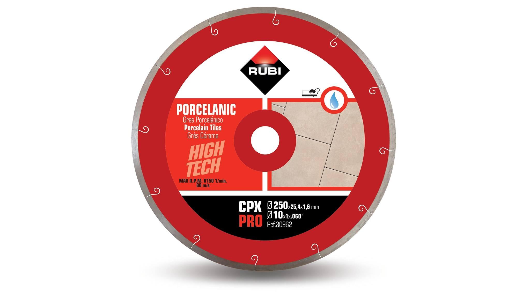 Lưỡi cắt gạch Rubi CPX 250 Pro