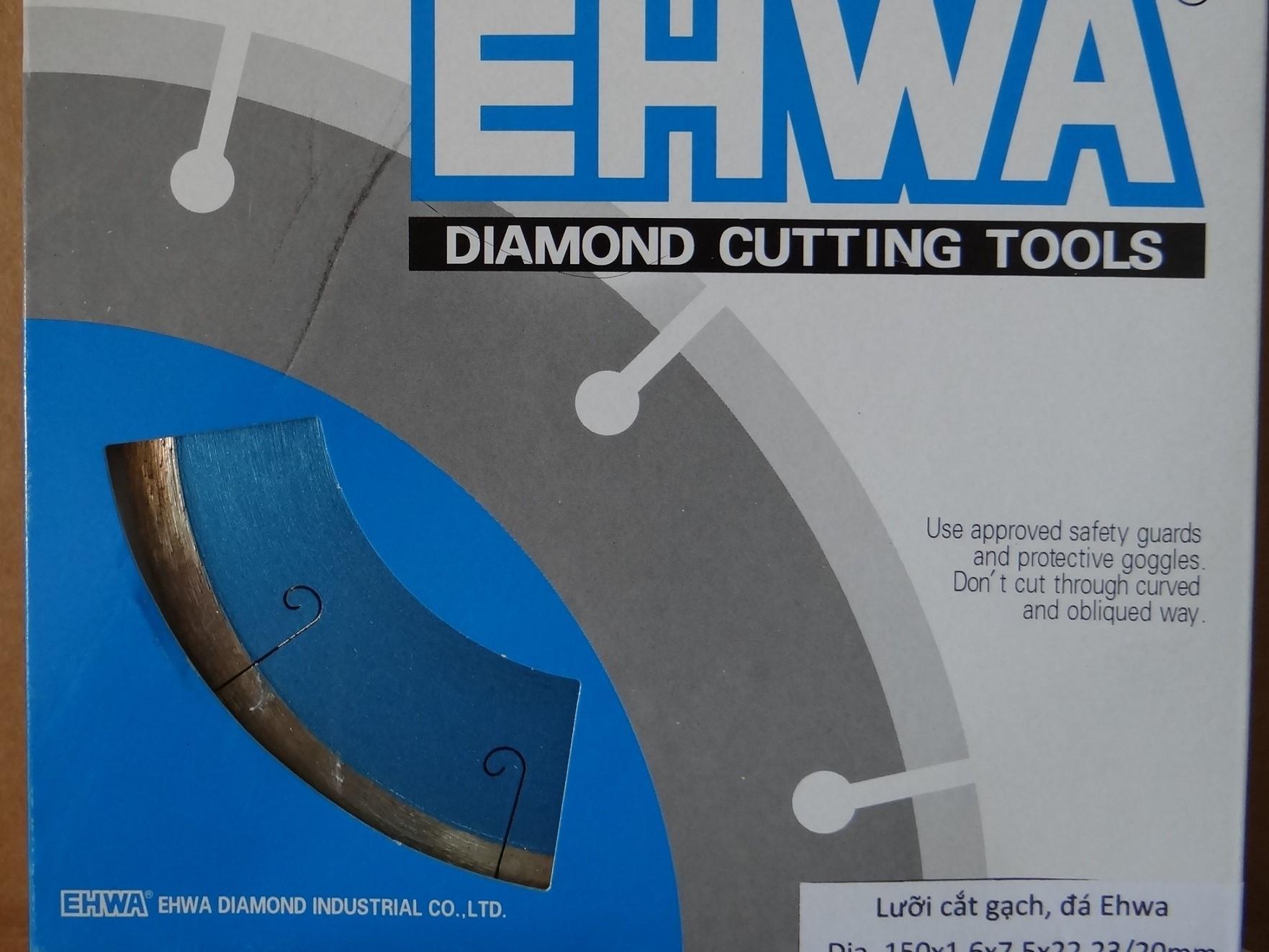 Lưỡi cắt gạch, đá Ehwa 150 Premium - Korea
