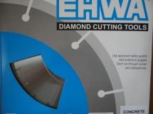Lưỡi cắt bê tông cứng Ehwa 400 Premium