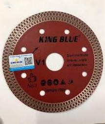 Lưỡi đa năng cắt gạch đá Kingblue 110mm (màu đỏ)