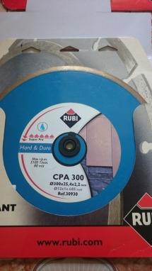 Lưỡi cắt đá granit Rubi  CPA 300 Superpro