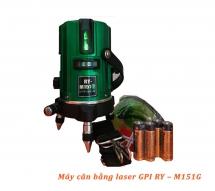 Máy cân bằng Laser GPI RY-M151G Taiwan (5 tia xanh)