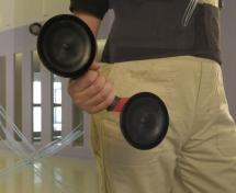 Tay hít nâng kính Rubi 2 chấu (Tây Ban Nha)