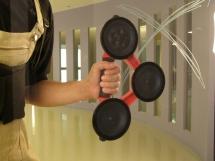Tay hít nâng kính Rubi 3 chấu (Tây Ban Nha)