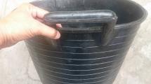 Xô cao su đựng hồ vữa hiệu Rubi - 33 lít